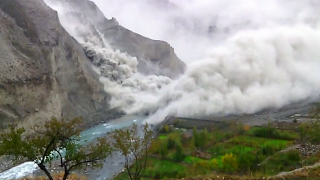 Landslide in Pakistan