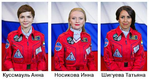 russia women science space