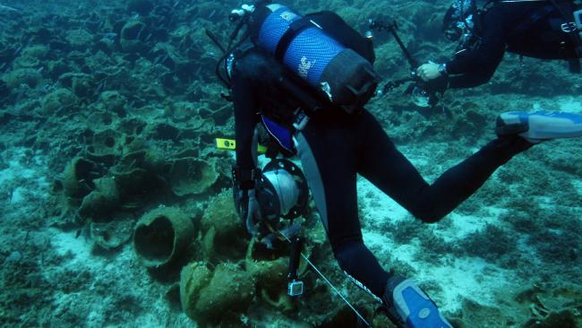 shipwreck excavation