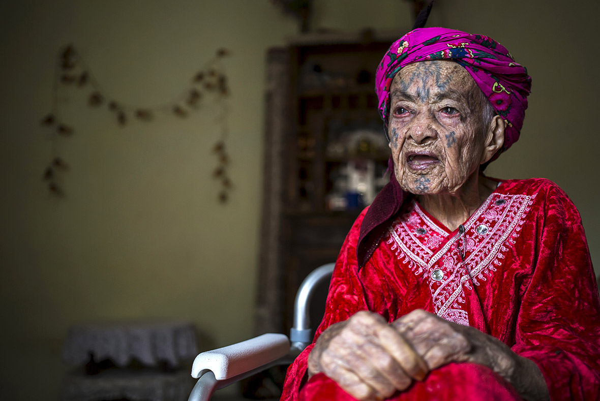 Berber women tattoos