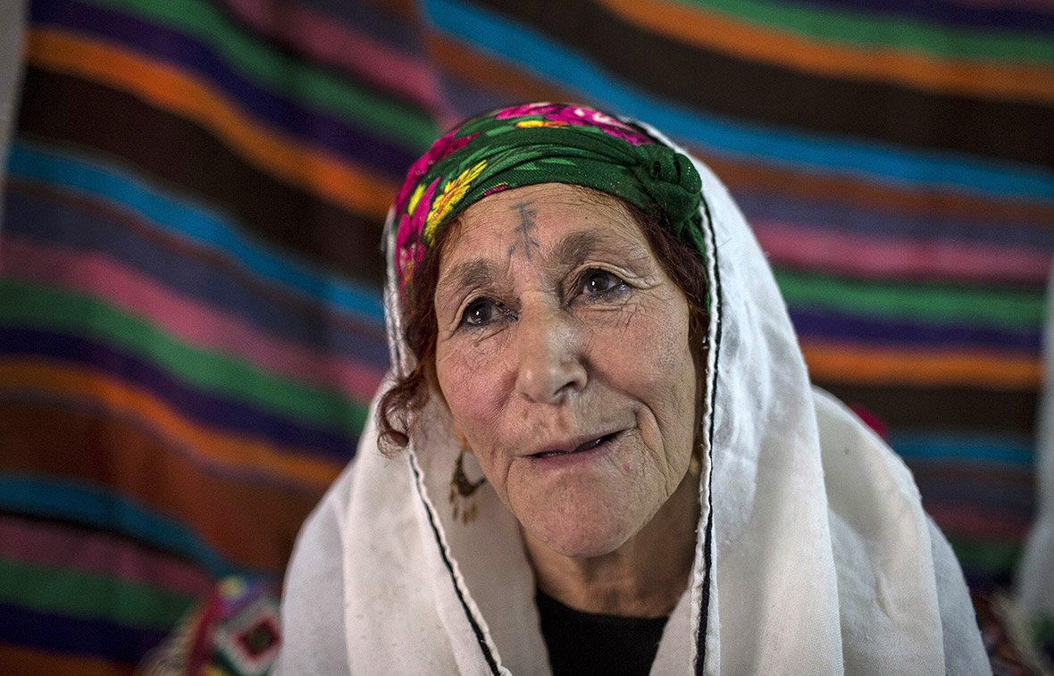 Berber women tattoos