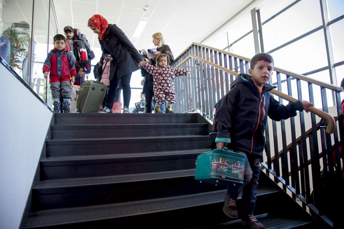 migrants refugees sweden