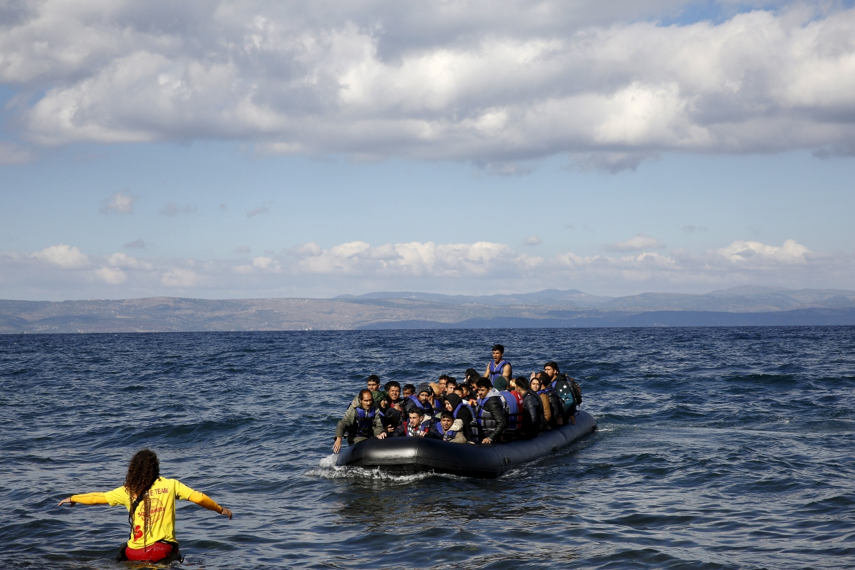 Lesbos migrant crisis