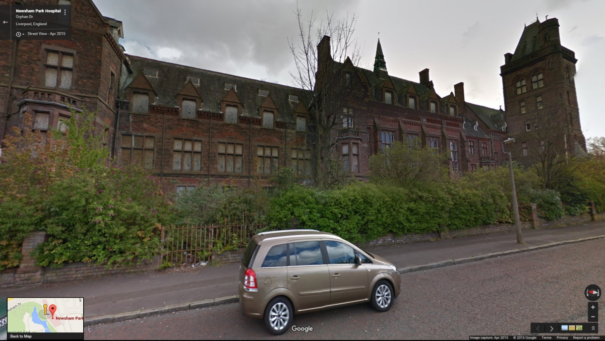 Newsham Park Hospital on Google Street View