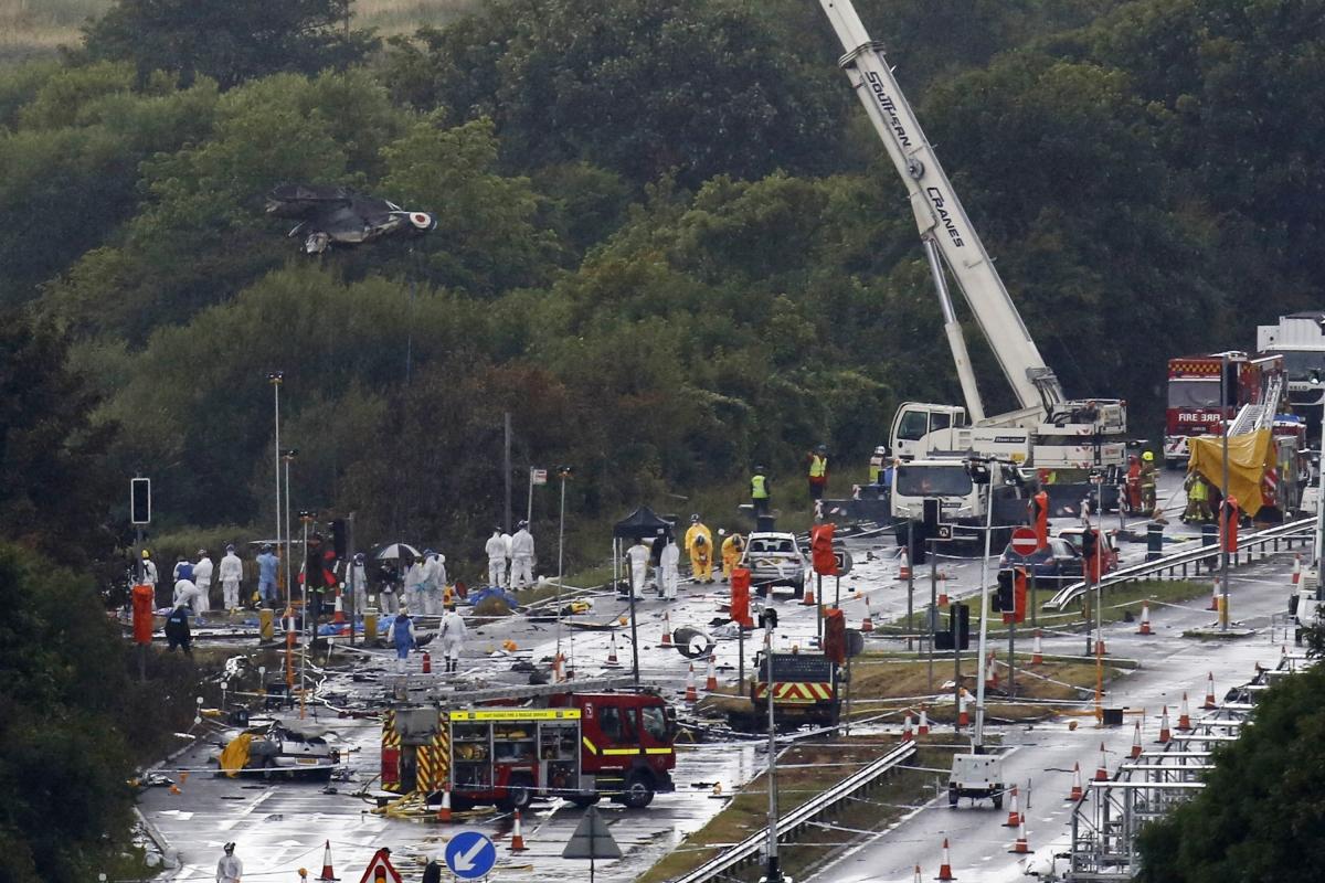 Shoreham air disaster crash 2015