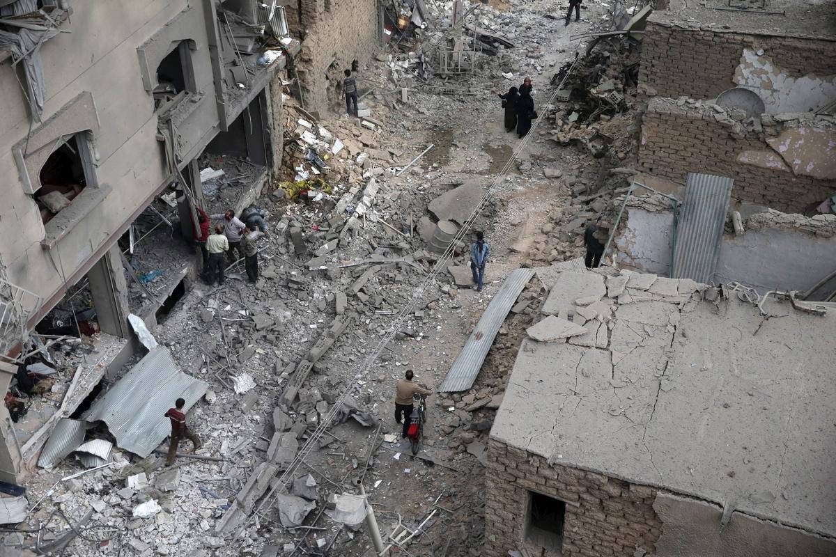 Douma, Syria