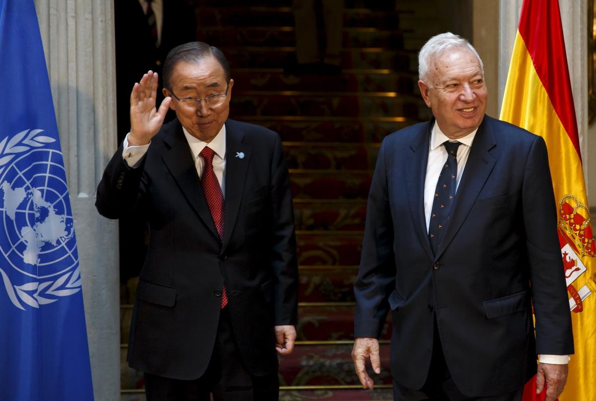 Ban Ki-moon & Jose Manuel Garcia-Margallo