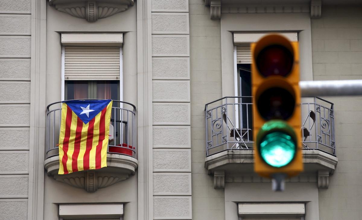 Estelada flag, Barcelona