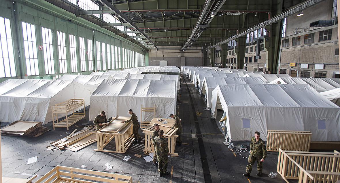 refugee crisis how long can germany 39 s generosity last under extreme pressure photo report. Black Bedroom Furniture Sets. Home Design Ideas