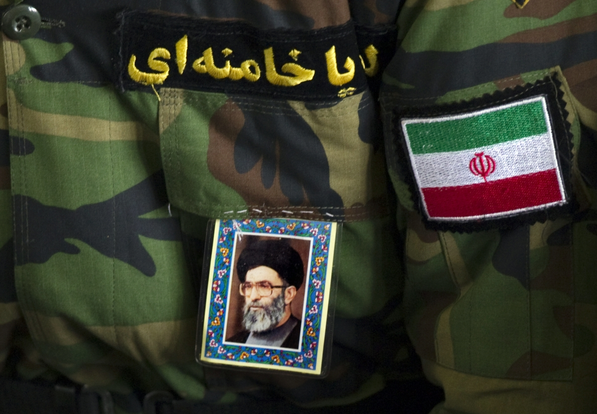 Revolutionary Guard uniform, Tehran