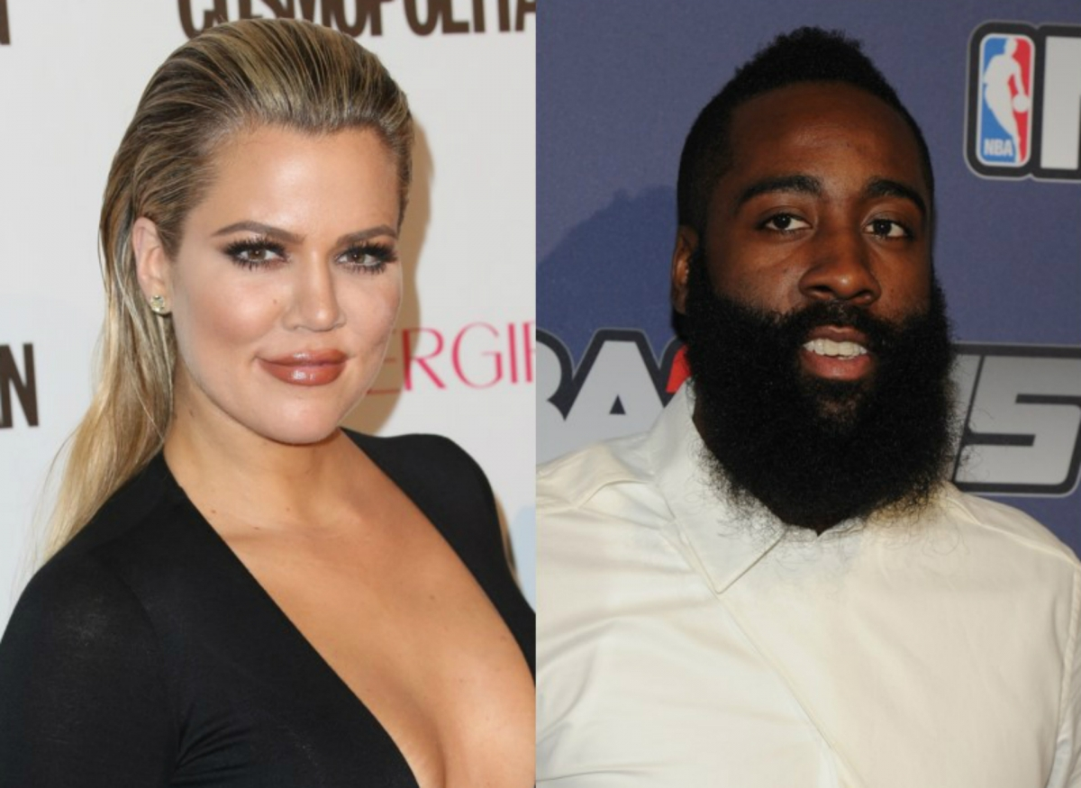 Khloe Kardashian and James Harden