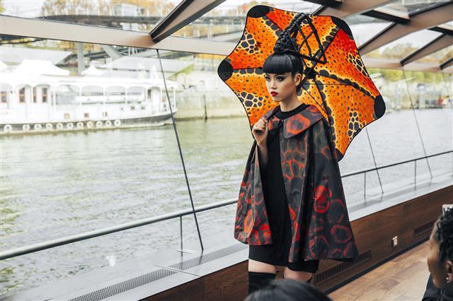 River Seine fashion show