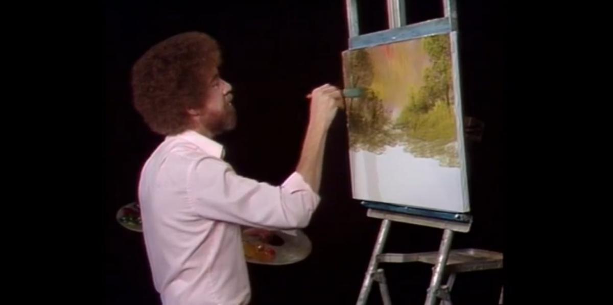 Bob Ross Joy Of Painting Twitch