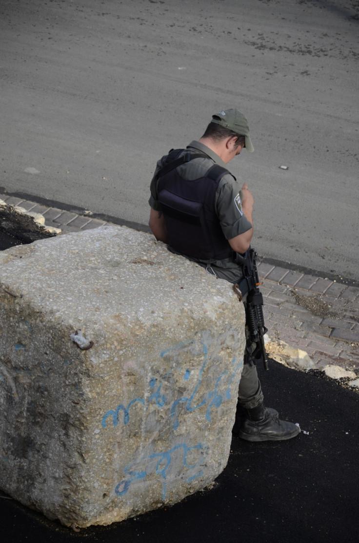 Jerusalem checkpoint