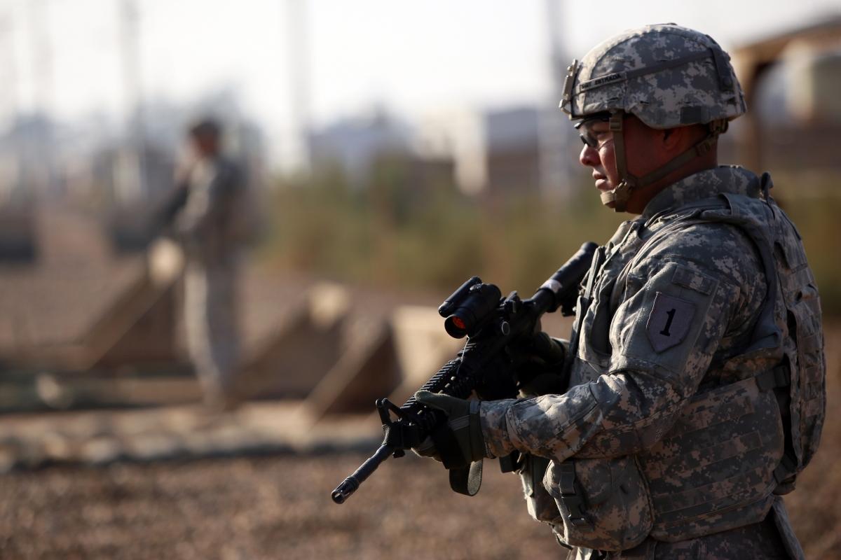 US soldier Iraq