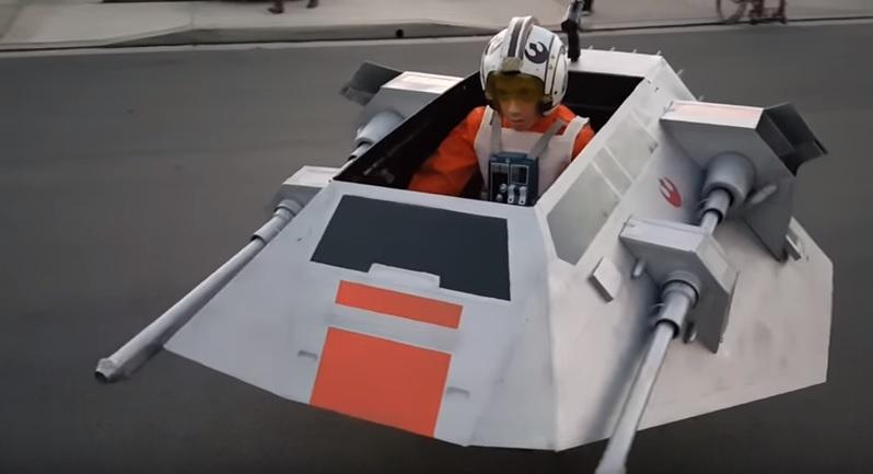 Star Wars Hallloween Costume Built For Son