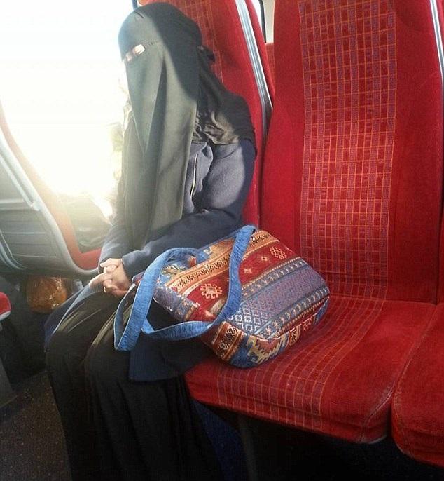 Muslim woman ostracised on train