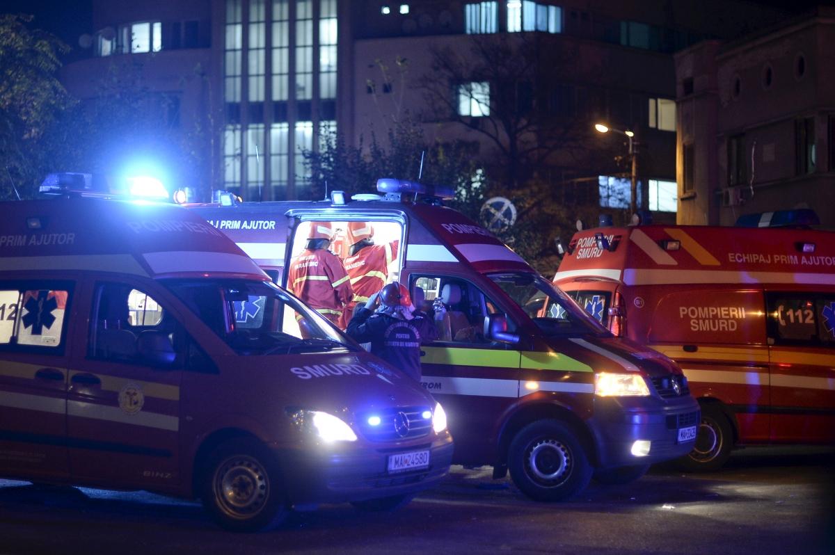 Bucharest nightclub blast