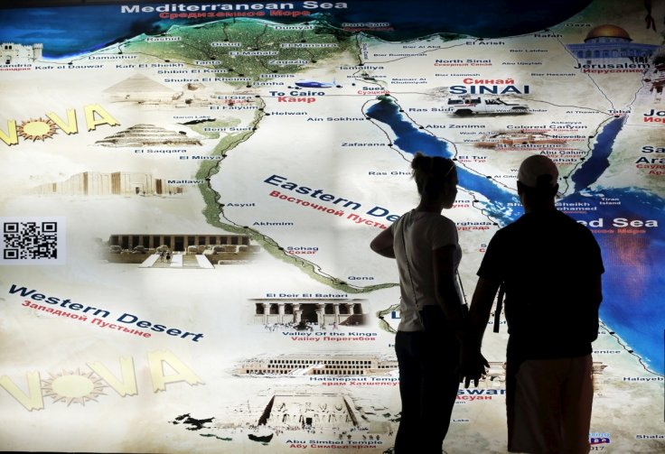 Russian passenger plane with 224 on board crashes in egypts sinai egypt map sharm el sheikh gumiabroncs Choice Image