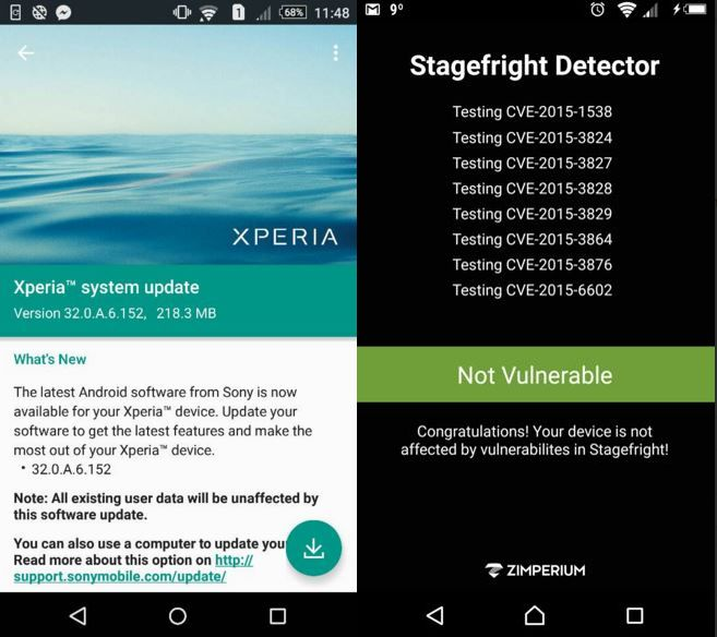 Firmware build 32.0.A.6.152  for Xperia Z5