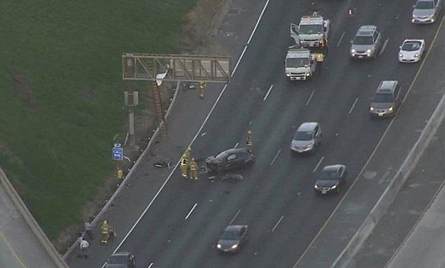 Los Angeles car crash