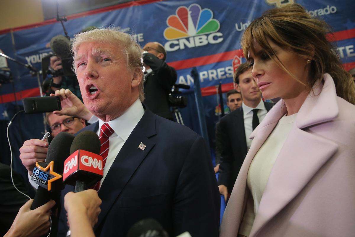 Donald Trump's ex-wife Ivana attacks current wife Melania ...
