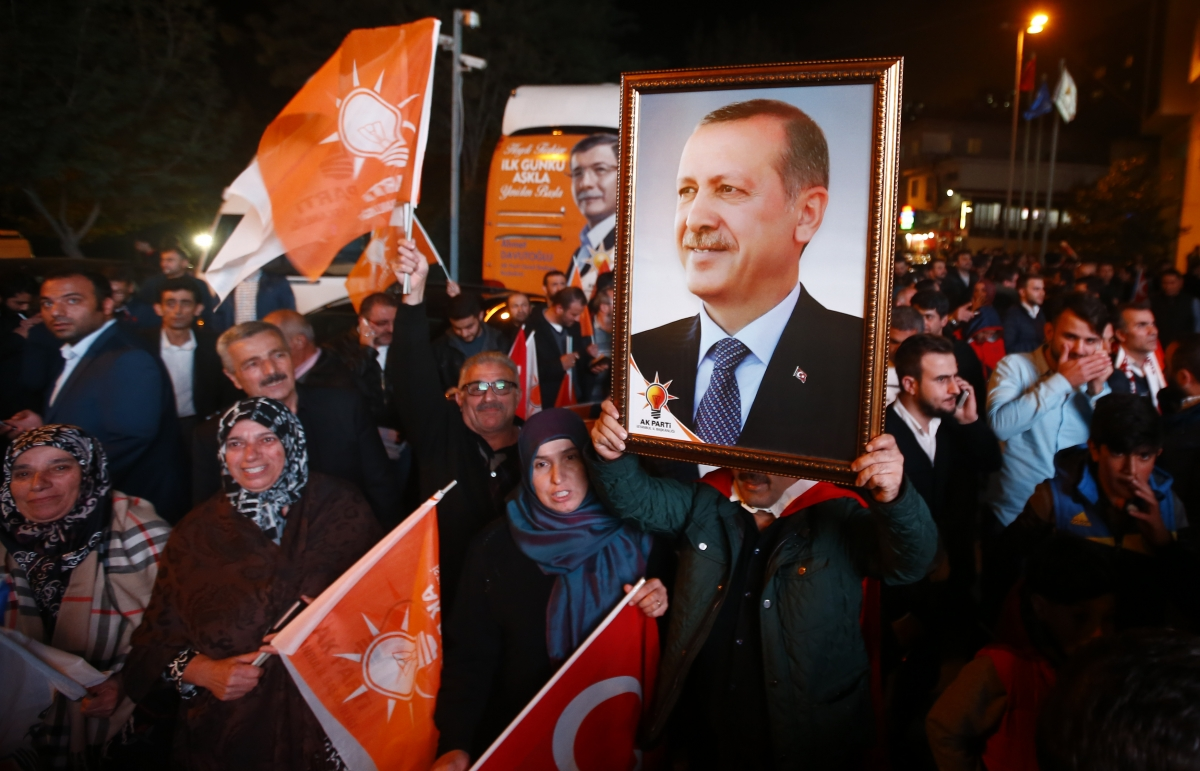 AKP Party wins Turkish elections
