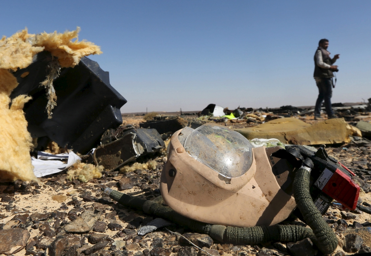 Russia plane crash in Sinai