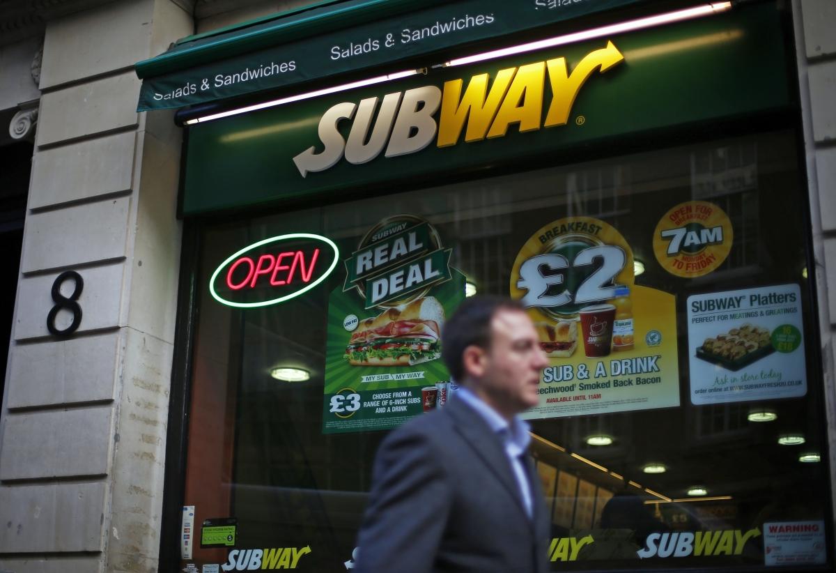 Subway food chain