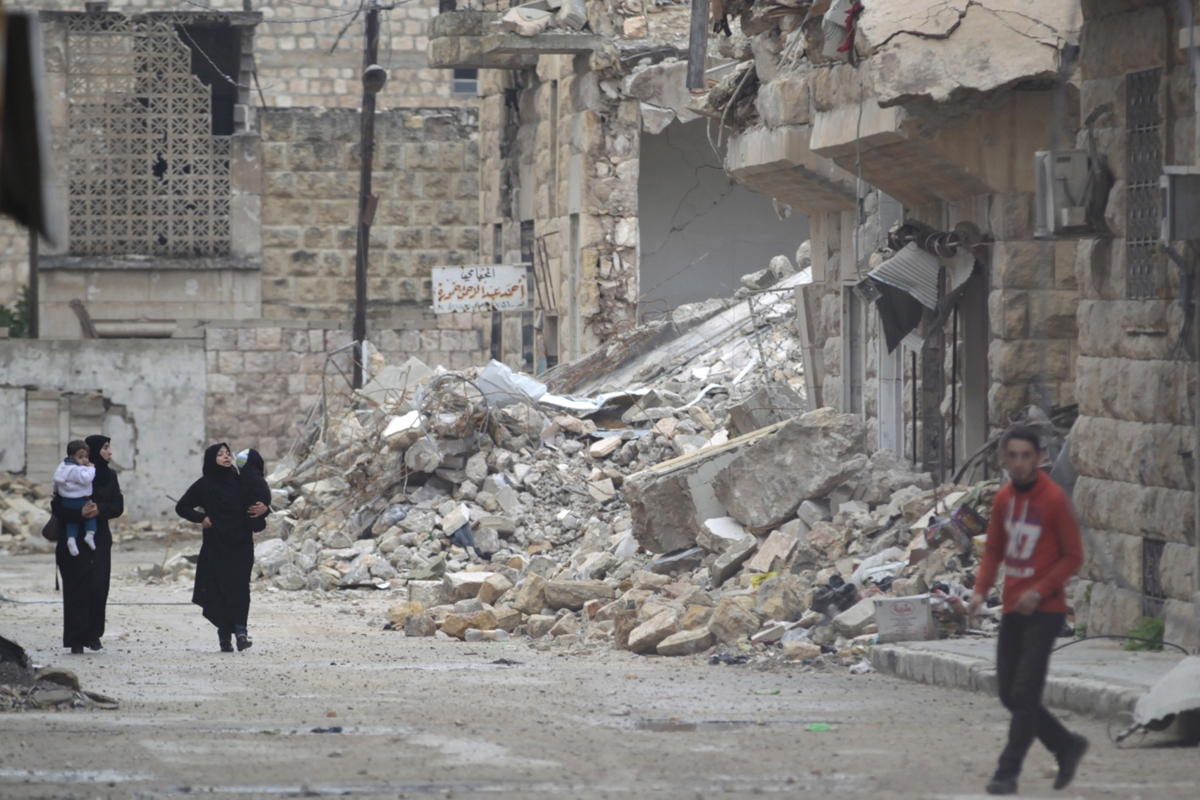 Maaret al-Numan, Syria