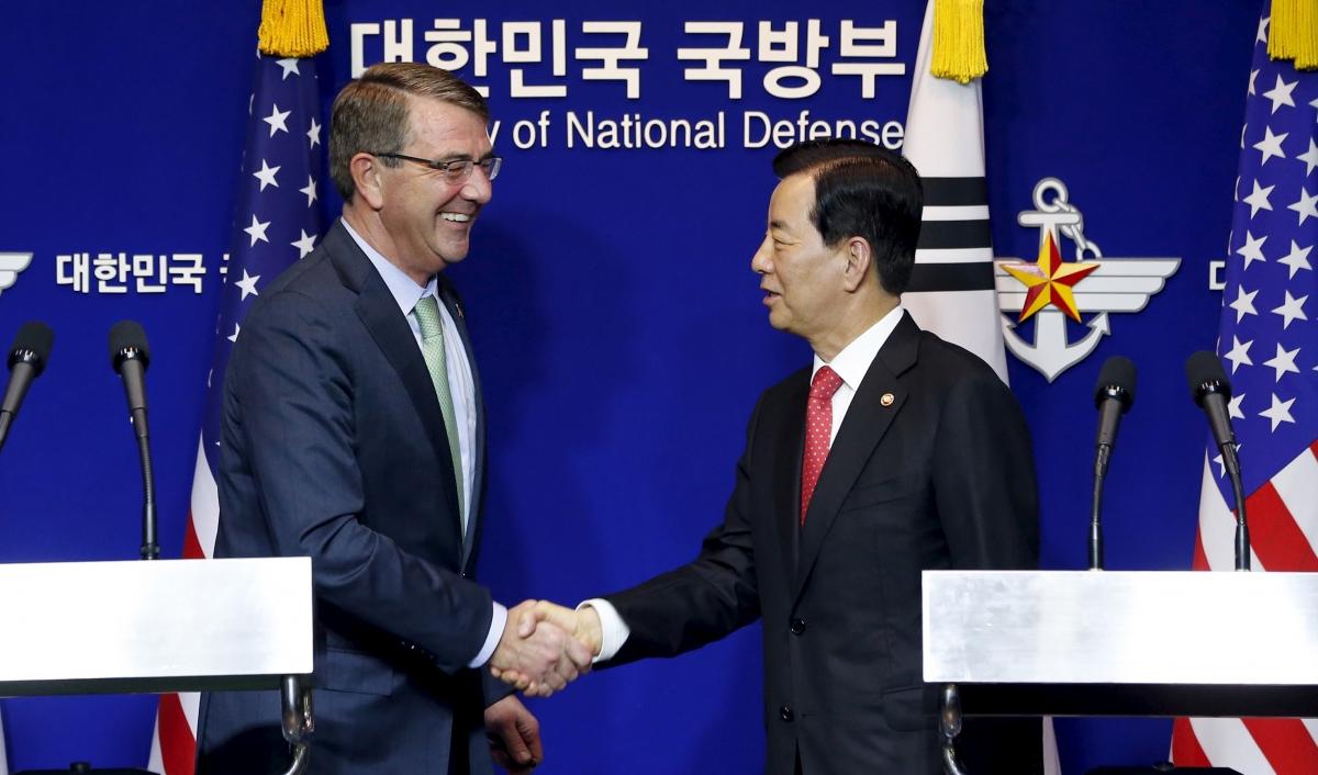 US and South Korea against North Korea