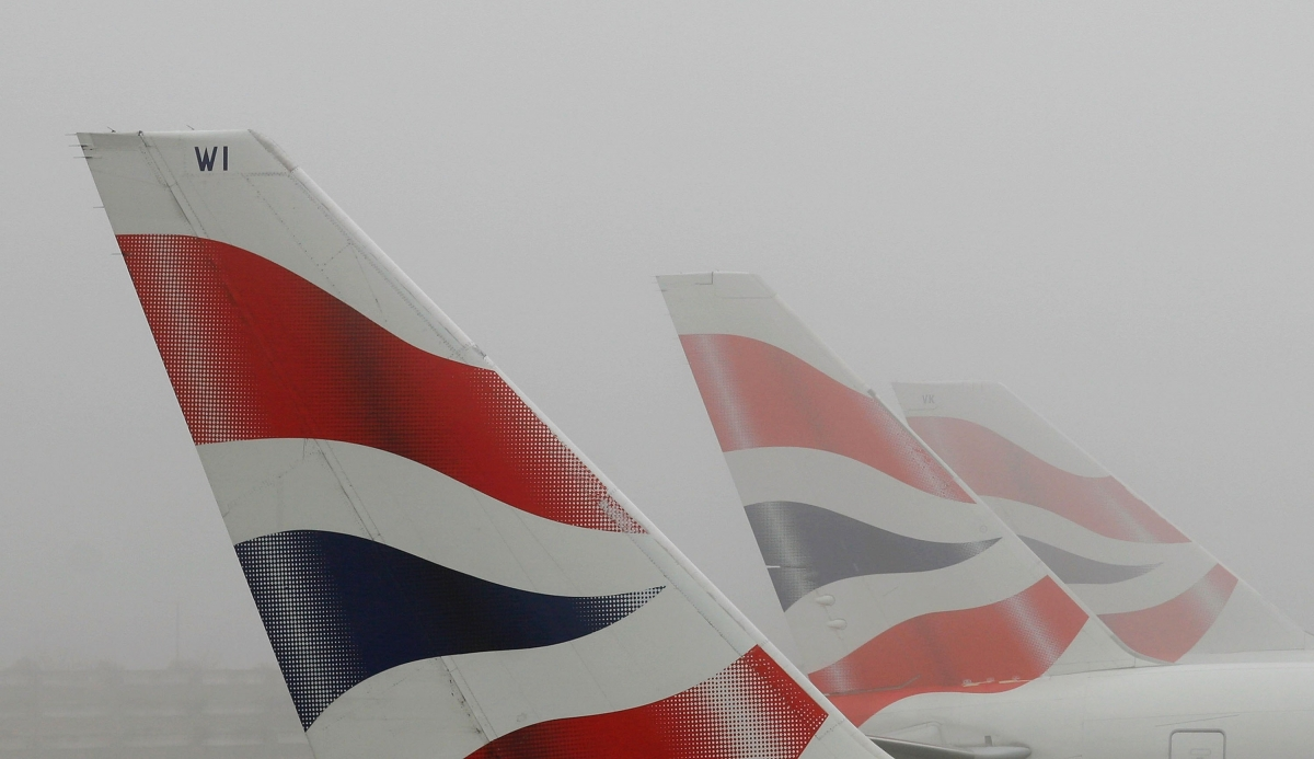 fog heathrow