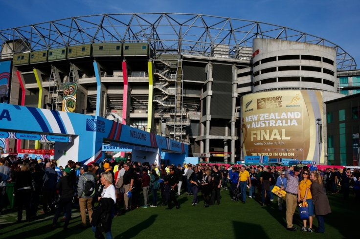Rugby World Cup crowds