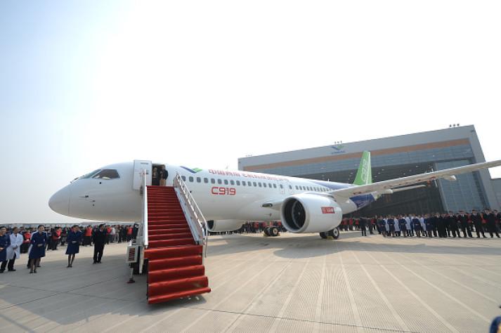 China's C919 plane