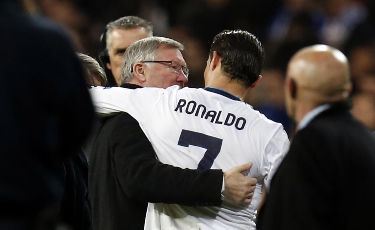 Sir Alex Ferguson & Cristiano Ronaldo