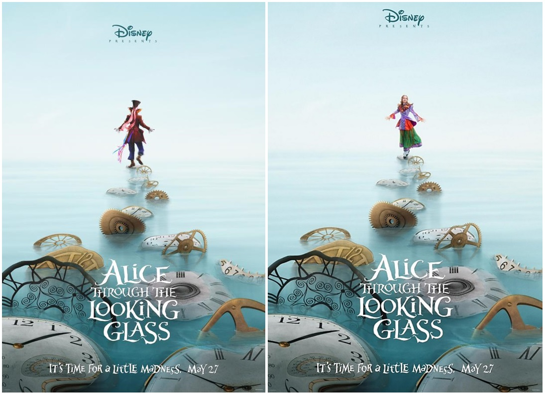 Alice In Wonderland 2 Disney Unveils The First Teaser Trailer For Through The Looking Glass