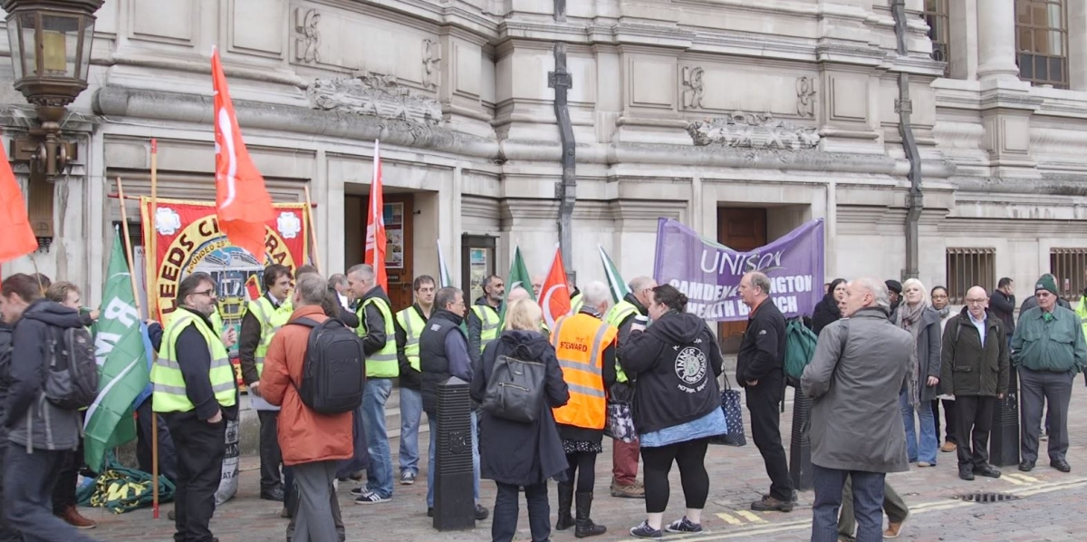 Trades Union Bill: Unions lobby parliament over controversial bill