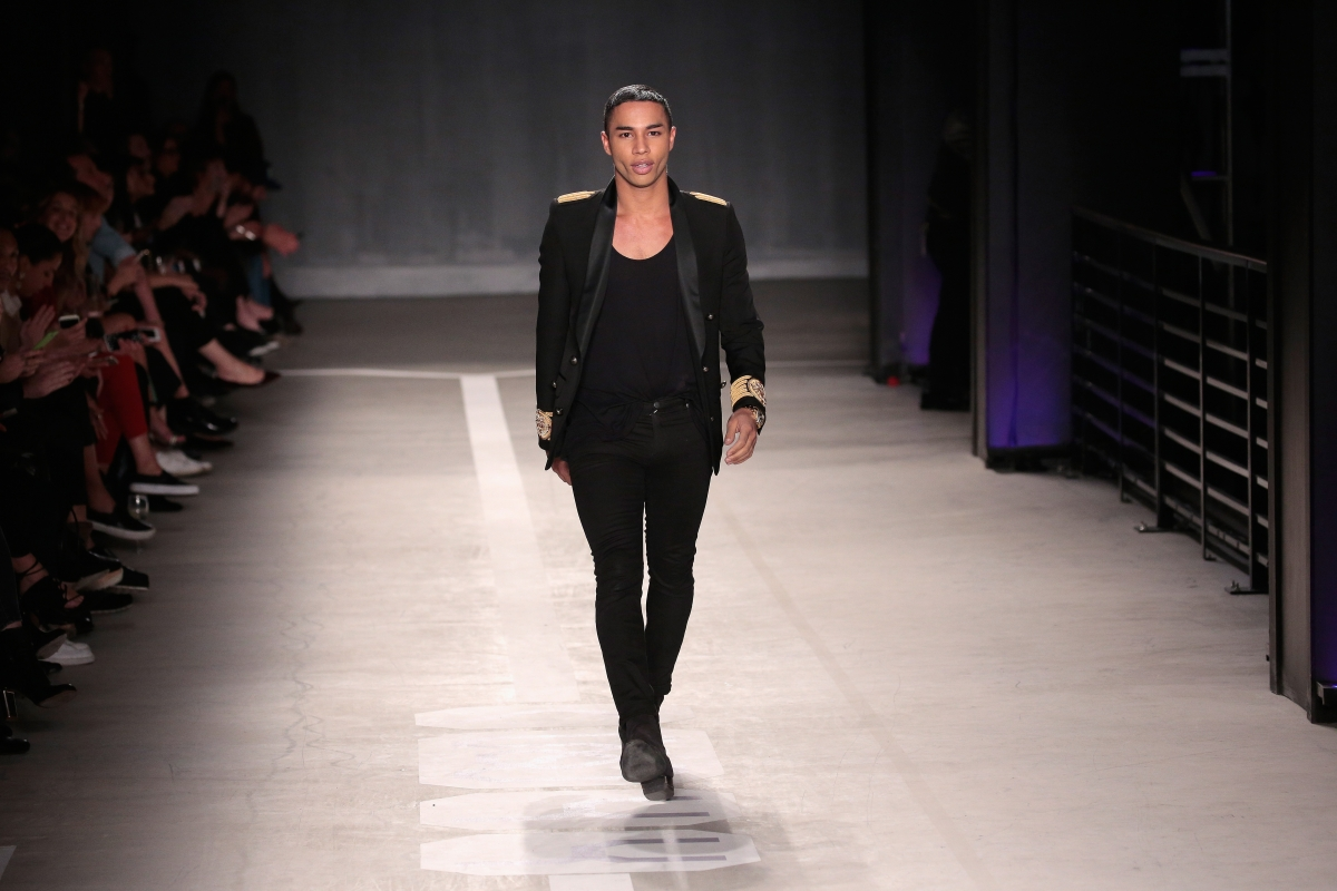 balmain x h m who is olivier rousteing how the creative director became the future of fashion. Black Bedroom Furniture Sets. Home Design Ideas