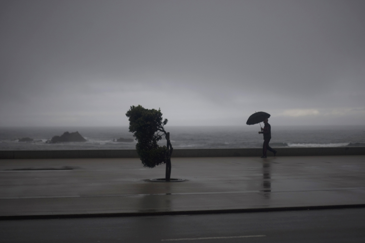 Storms in Portugal