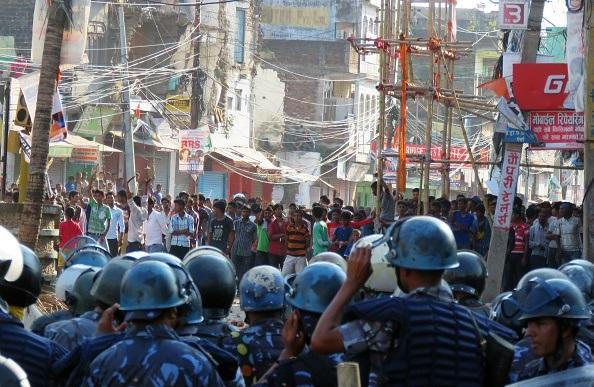 Nepal riots