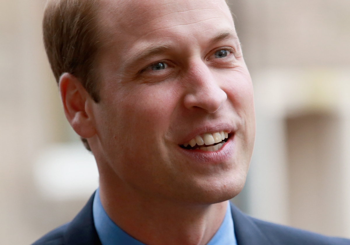 prince william sends good luck message to england ahead of. Black Bedroom Furniture Sets. Home Design Ideas