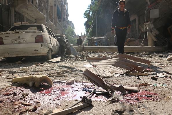 Douma bombings