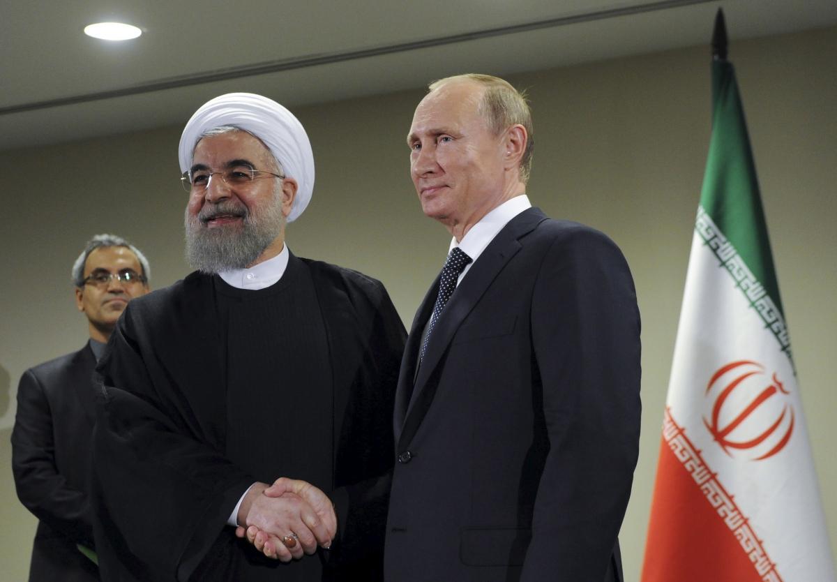 Hassan Rouhani & Vladimir Putin