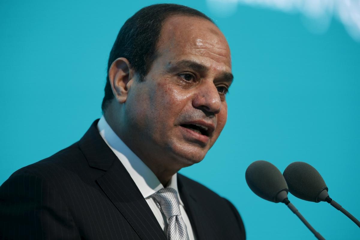 Egypt's President Abdel Fattah el-Sisi