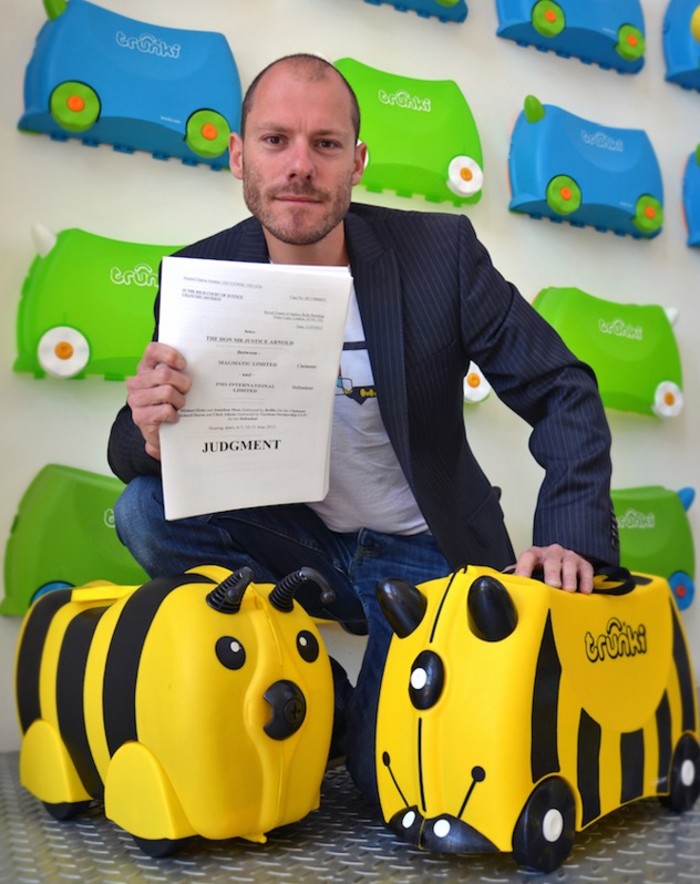Trunki designer Rob Law