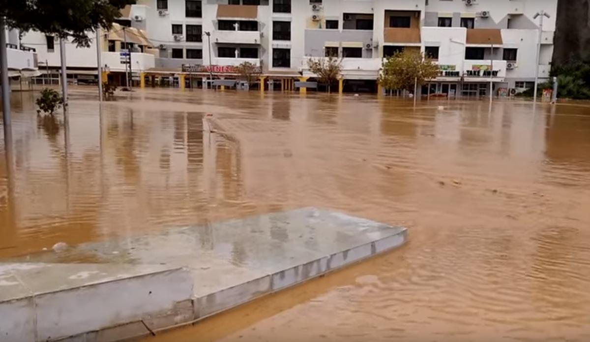 Albufeira flooding