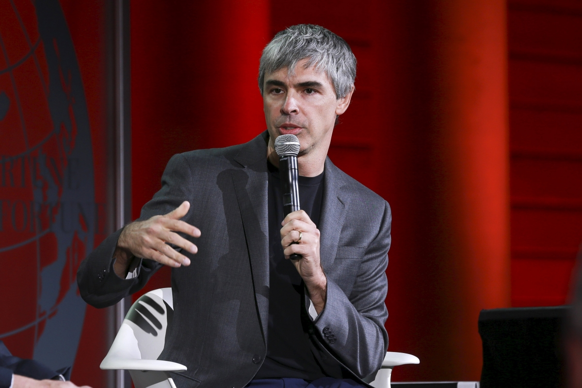 Google Co-founder Larry Page Discusses Alphabet