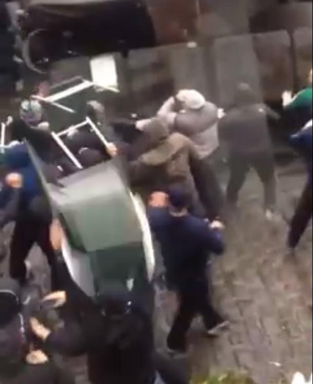 Manchester pub fight