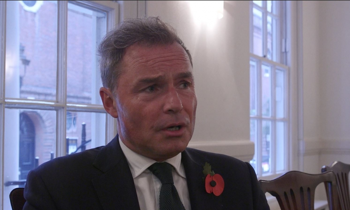 Mayor of London: Interview with UKIP candidate Peter Whittle