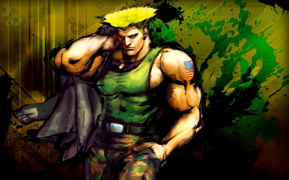 Guile Street Fighter 5